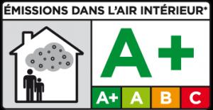 émissions air intérieur A+
